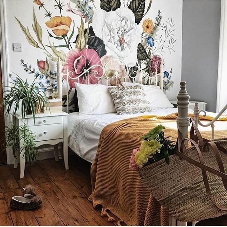 Modern Bohemian Bedroom (31)