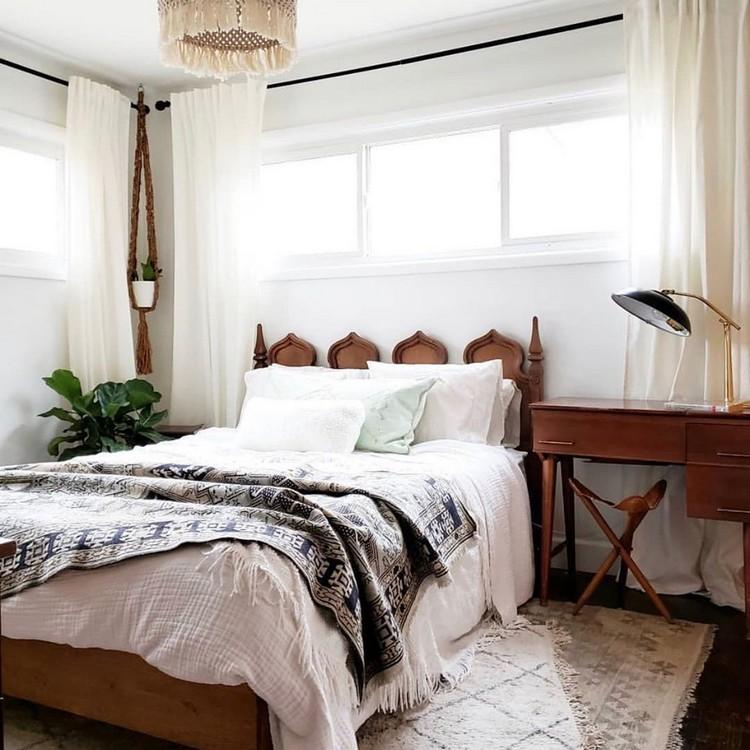 Modern Bohemian Bedroom (33)