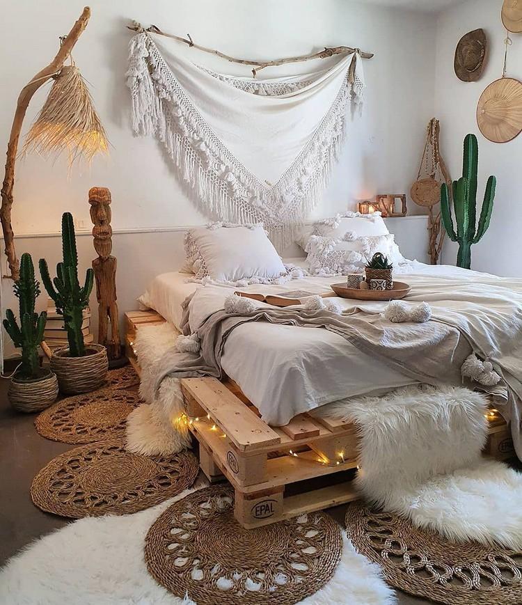Modern Bohemian Bedroom (35)
