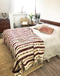 Modern Bohemian Bedroom (36)