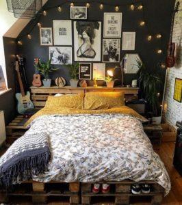 Modern Bohemian Bedroom (39)
