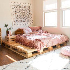Modern Bohemian Bedroom (4)