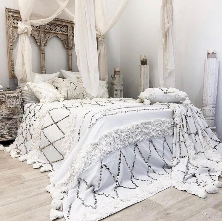 Modern Bohemian Bedroom (41)