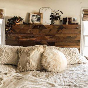 Modern Bohemian Bedroom (44)