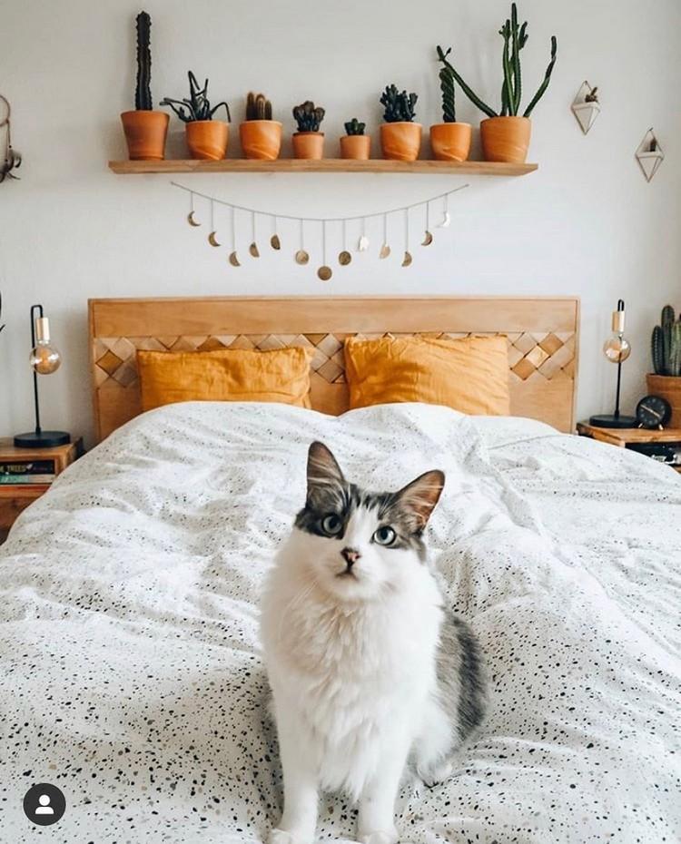 Modern Bohemian Bedroom (46)