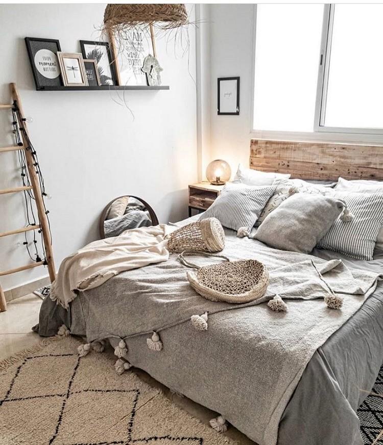 Modern Bohemian Bedroom (5)