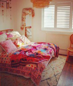 Modern Bohemian Bedroom (51)