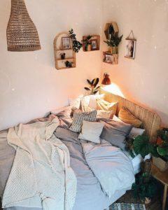 Modern Bohemian Bedroom (52)