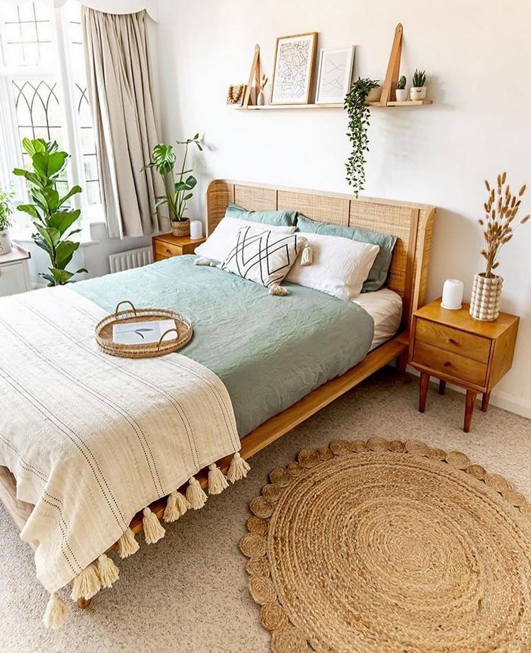 Modern Bohemian Bedroom (53)