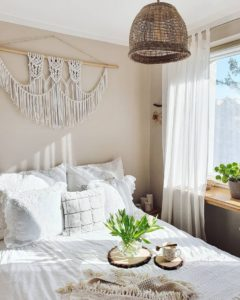 Modern Bohemian Bedroom (54)