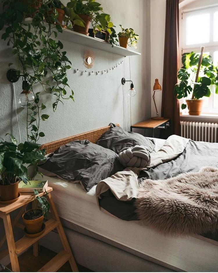 Modern Bohemian Bedroom (55)