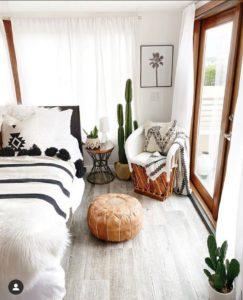 Modern Bohemian Bedroom (57)