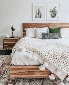 Modern Bohemian Bedroom (58)