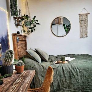 Modern Bohemian Bedroom (59)