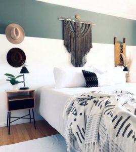 Modern Bohemian Bedroom (6)