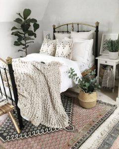 Modern Bohemian Bedroom (60)