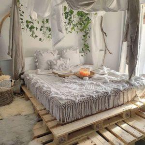 Modern Bohemian Bedroom (61)