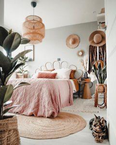 Modern Bohemian Bedroom (62)