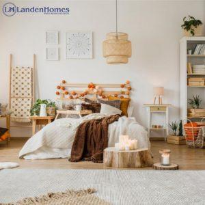 Modern Bohemian Bedroom (64)