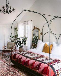 Modern Bohemian Bedroom (65)