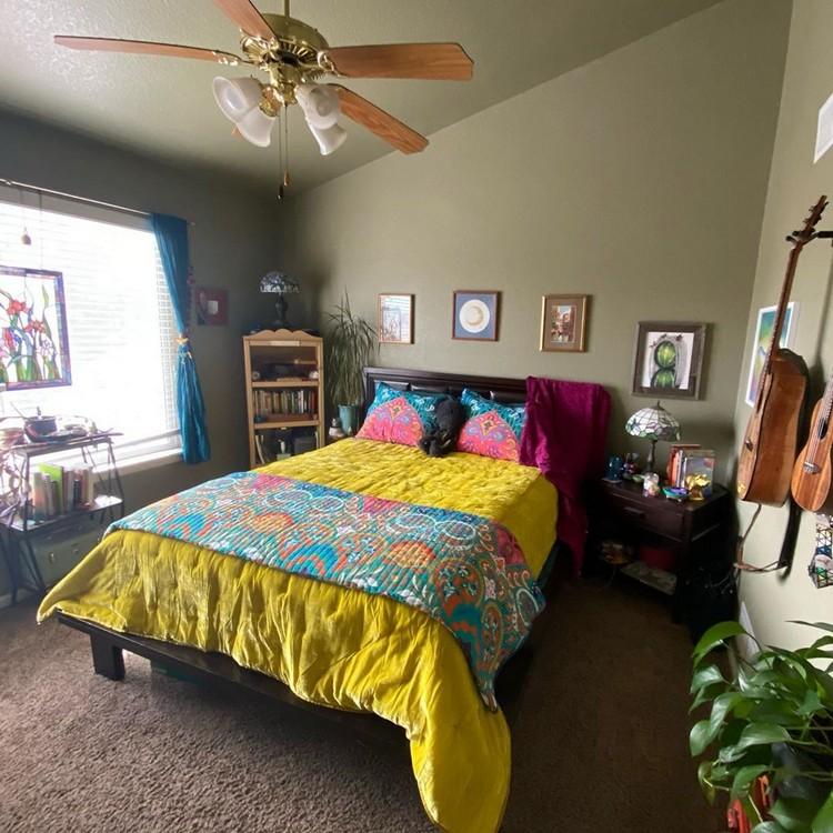 Modern Bohemian Bedroom (7)