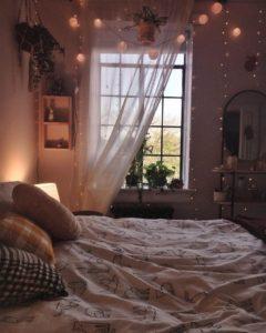 Modern Bohemian Bedroom (8)